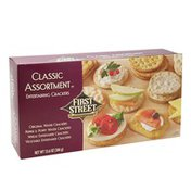 First Street Entertaining Crackers Classic Assorted
