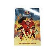 RH Disney Incredibles 2 The Junior Novelization Paperback