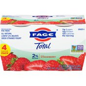 FAGE Total Strawberry Lowfat Milkfat All Natural Greek Strained Yogurt