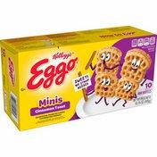 Eggo Mini Frozen Waffles, Frozen Breakfast, Cinnamon Toast