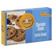 Jen & Joes Cookie Dough, Ready-to-Bake, Chocolate Chunk