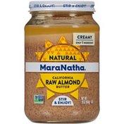 Maranatha Creamy Natural California Raw Almond Butter