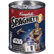 Spaghettios Star Wars Stellar Shapes Original Shaped Pasta