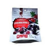 Natural Cravings Dried Cranberries Covered In Smooth Dark Chocolate