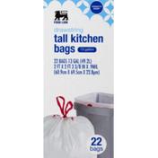 Food Lion Kitchen Bags, Tall, Drawstring
