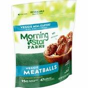 Morning Star Farms Meatless Meatballs, Plant Based Protein Vegan Meat, Original