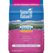 Natural Balance Cat Food, Ultra Premium, Chicken Meal & Salmon Meal Formula, Original