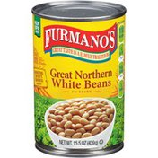 Furmano's Great Northern in Brine White Beans