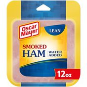 Oscar Mayer Lean Smoked Ham Sliced Lunch Meat with Water Added