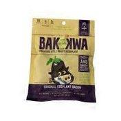 Bak Kwa Eggplant Bacon Jerky
