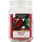 Enticing Aromas Candle, Scented, Jingle Bells