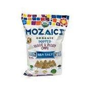 Mozaics Sea Salt Organic Popped Veggie & Potato Chips
