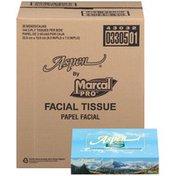 Marcal 144 Ct 2-Ply Aspen Facial Tissue
