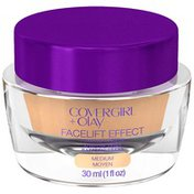 CoverGirl Olay FaceLift Effect Firming Makeup Medium 350 Foundation