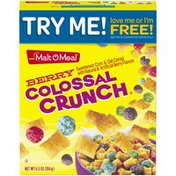 Malt-O-Meal Berry Colossal Crunch Cereal