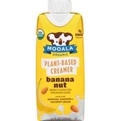 Mooala Creamer, Plant-Based, Banana Nut