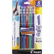 Pilot Pens, Erasable, Assorted Inks