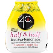 4C Foods Half & Half Water Enhancer Iced Tea Lemonade