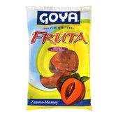 Goya Whole Zapote-Mamey Fruit, Frozen