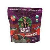 Tropical Acai Organic Acai Authentic Mix Superfood Packs