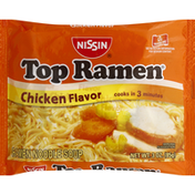 Nissin Soup, Ramen Noodle, Chicken Flavor