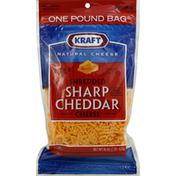 Kraft Shredded Cheese, Sharp Cheddar