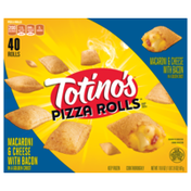 Totino's Totino's Macaroni and Cheese With Bacon Pizzs