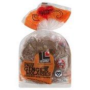 Liz Lovely Cookies, Gluten Free, Ginger Molasses