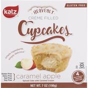 Katz Cupcakes, Caramel Apple, Cream Filled
