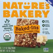 Nature's Bakery Baked-Ins, Banana Chocolate Chip