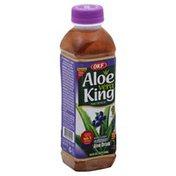 OKF Aloe Drink, Pure, Premium, Blueberry