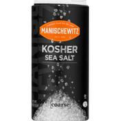 Manischewitz Sea Salt, Kosher, Coarse