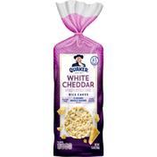 Quaker Rice Cakes, White Cheddar