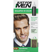 Just For Men Shampoo-In Color, Ash Brown H-20