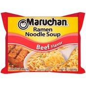 Maruchan Beef Flavor Ramen Noodle Soup