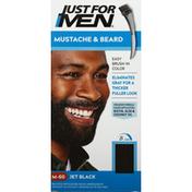 Just For Men Easy Brush-In Color, Mustache & Beard Color, Jet Black M-60