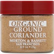 Morton & Bassett Spices Coriander, Organic, Ground