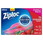 Ziploc Storage Bags Quart