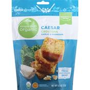 Simple Truth Organic Croutons, Garlic & Parmesan, Caesar