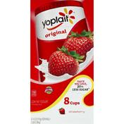 Yoplait Yogurt, Low Fat, Strawberry