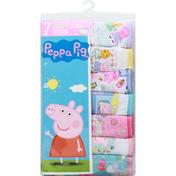 Peppa Pig Panties, Toddler Girls, 2T/3T