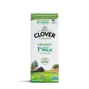 Clover Sonoma Organic UHT 1% Low Fat Milk Half Gallon