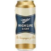 Miller High Life High Life Light, Cans