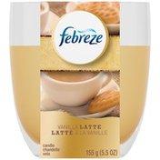 Febreze Vanilla Latte Candle