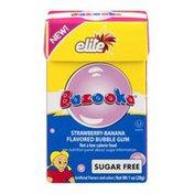 Bazooka Bubble Gum Sugar Free Strawberry-Banana