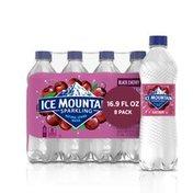 Ice mountain Sparkling Water, Black Cherry