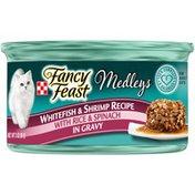 Purely Fancy Feast Elegant Medleys Tastemakers Whitefish & Shrimp Wet Cat Food