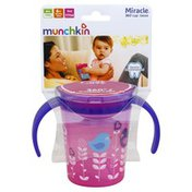 Munchkin Cup, Miracle 360 Degree, 6 + Months, 6 Ounce