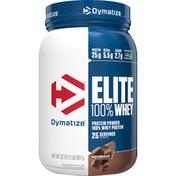 Dymatize Protein Powder, Rich Chocolate, 100% Whey
