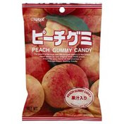 Kasugai Candy, Peach, Gummy, Bag